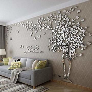 3D Wandaufkleber Baum Bäume Blätter Wind Wandtattoos Wanddekoration Schlafzimmer Babyzimmer Kinderzimmern