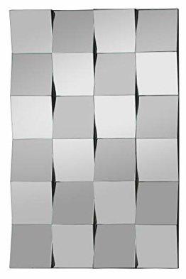 Moderner Kachel 3D Design Wandspiegel Designspiegel (HxB) 90x60 cm Eingangsbereich Wohnzimmer