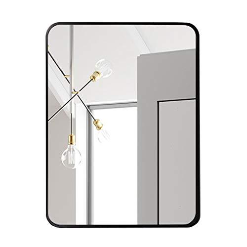 Großer Spiegel Designspiegel mit abgerundeten Ecken für Eingangsbereiche, Waschräume, Wohnzimmer