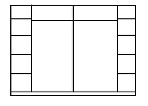 Großer Spiegel Kleiderschrank 244 cm Schwebetürenschrank Schrank Weiß Hochglanz Spiegelschrank Schlafzimmer -