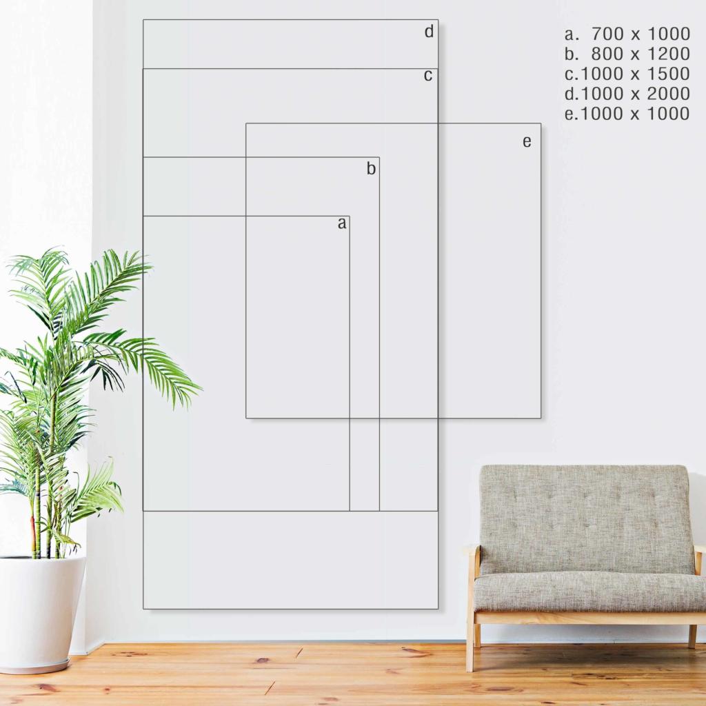 Spiegelgröße richtig auswählen Formate Größen Beispiel