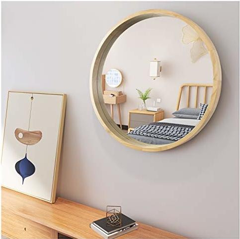 Badezimmerspiegel Runder Schminkspiegel Badezimmerdekoration