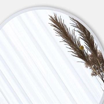 Runder Wand Hänge Schminkspiegel Runder Designspiegel Metallrahmen für Schlafzimmer Badezimmer Wohnzimmer -