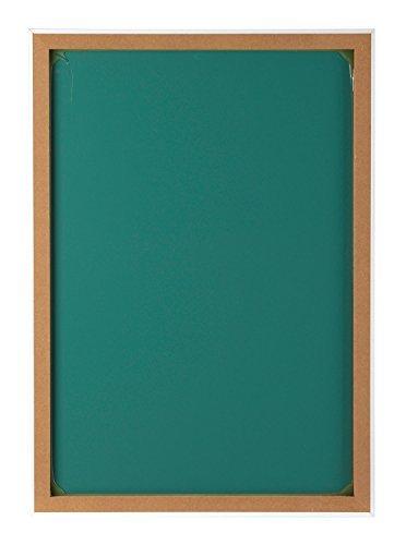 Spiegel Wandspiegel Flurspiegel ca. 50 x 70 cm   Holz Rahmen Weiß Hochglanz -