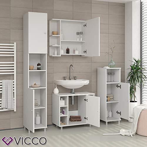Spiegelschrank 80cm Badezimmer-Spiegel Hängespiegel Badspiegel Badezimmerspiegel Wandspiegel Badschrank -