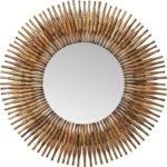 Kare Design Sunlight Spiegel runder Flurspiegel, Badezimmerspiegel
