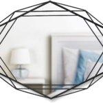 Umbra Prisma Wandspiegel Metall, Schwarz