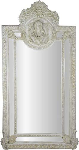 Barock Spiegel Antik Stil Grau Weiss Maria Motiv Herrschaftlicher Barock Möbel Antik Stil