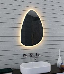 FORM Design LED Badezimmerspiegel großer moderner Badspiegel Lichtspiegel Wandspiegel Bad Dekoration
