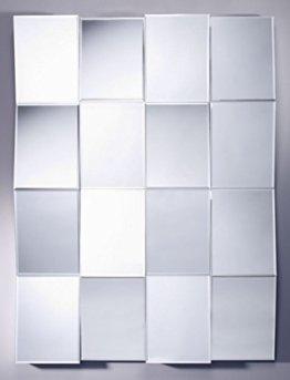 Großer Luxus Wandspiegel Spiegel Kachel 3D Design 90 x H. 120 cm Qualität modernes Wohnen