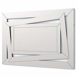 Moderner Spiegel Wandspiegel Dekorationsspiegel für Salon, Schlafzimmer, Eingang, Garderobe Groβer eleganter Spiegel 100 x 70 cm