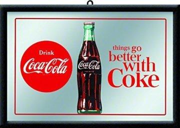 Coca Cola Barspiegel Werbespiegel Wandspiegel Bar Dekoration Spiegel Flasche