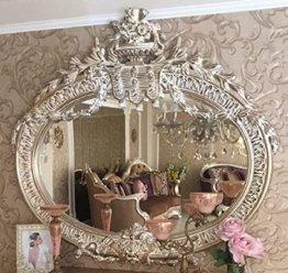 Luxus Barock Spiegel Antik Gold Prunkvoller handgefertigter Wandspiegel im Barockstil Antik Stil Garderoben Spiegel