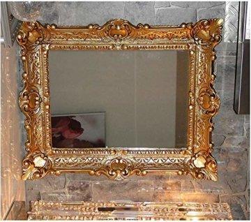 Wandspiegel In Gold Rahmenspiegel Barockspiegel Spiegel 56x46 cm Barockstil Renaissance Opulenter Prachtvoller Nostalgie Antik Barock Repro