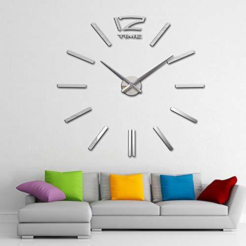 Wanduhr Uhr Zeiger Wandtattoos & Wandbilder Wandsticker Stummschaltung der Acryl-Mode-Uhr