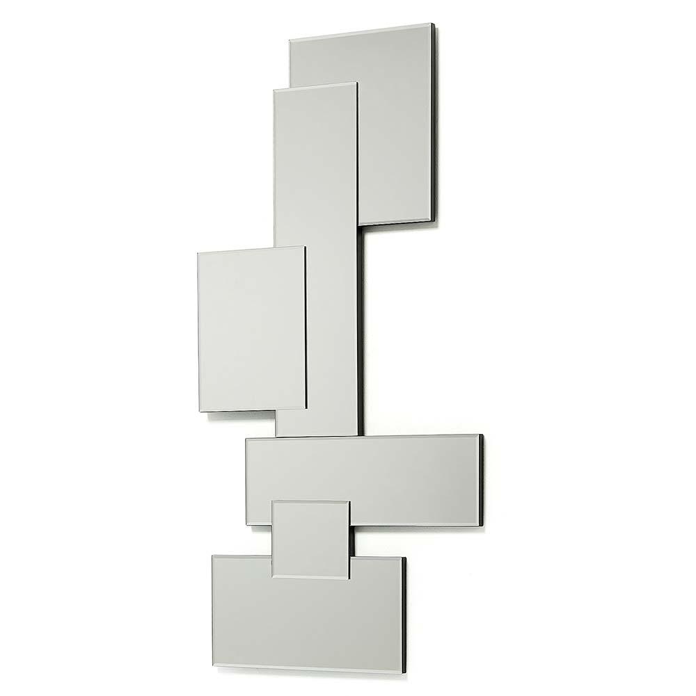 Designspiegel Design Wandspiegel rahmenlos 60 cm breit rechtecke modern Flurspiegel Art Deko
