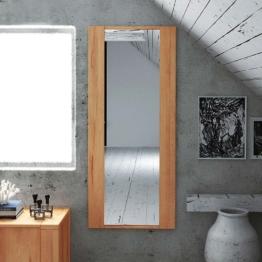 Dielenspiegel aus Kernbuche Massivholz geölt Flurspiegel Eingangsbereich Badezimmer Wandspiegel