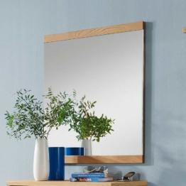 Dielenspiegel Flurspiegel mit Wildeiche furniert modern Flur Eingang modern Holz Spiegel Wandspiegel
