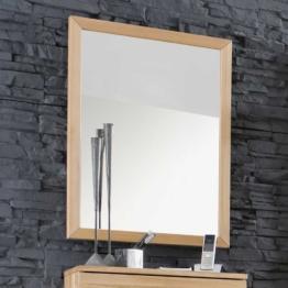 Flur - Garderobenspiegel aus Kernbuche Massivholz 60 cm breit klassisches Holz Design