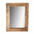 Flurspiegel aus Teak Massivholz Landhaus rustikal Holz massiv Wandspiegel Teakholz Rahmen Flur, Diele, Eingangsbereich