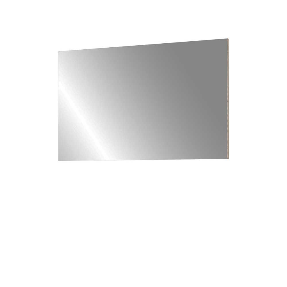 Flurspiegel in Buche Dekor 60 cm hoch Flur Eingangsbereich schlicht moderner Spiegel