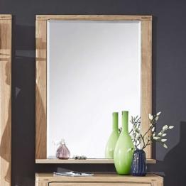 Wandspiegel aus Wildeiche hell massiv modern Holzrahmen Spiegel naturoptik Holz Landhaus Flurspiegel
